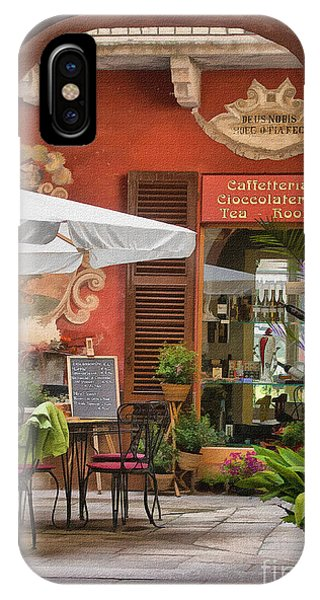 Caffeteria Orta San Guilio IPhone Case