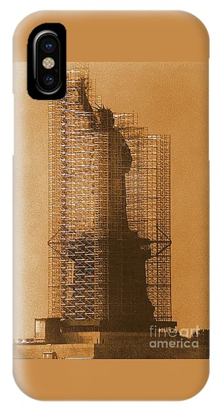 New York Lady Liberty Statue Of Liberty Caged Freedom IPhone Case