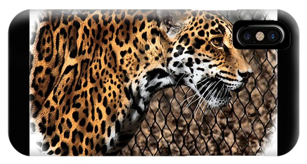 Caged Jaguar IPhone Case