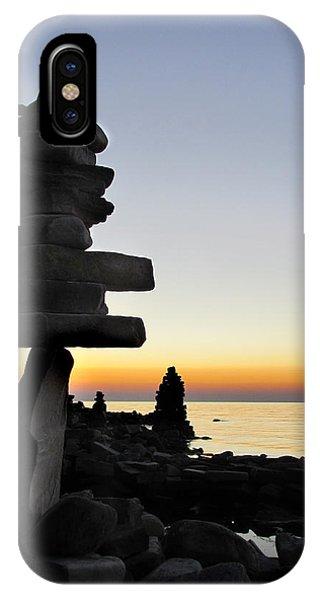 Cairns At Sunset At Door Bluff Headlands IPhone Case