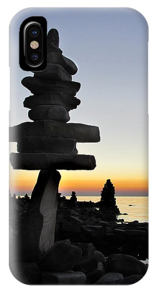 Cairns At Sunset At Door Bluff Headlands IPhone Case