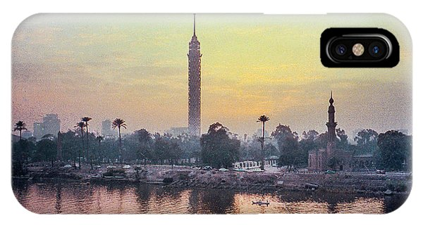 Cairo And The Nile IPhone Case
