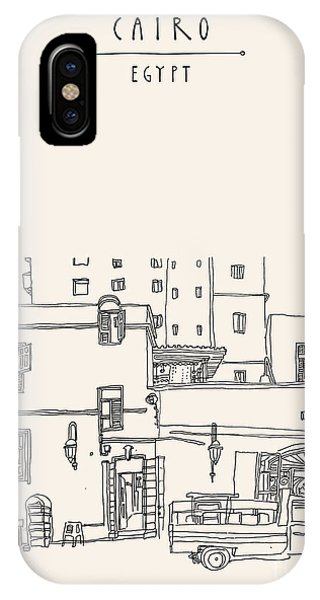 Craft iPhone Case - Cairo, Egypt, North Africa. A Man by Babayuka