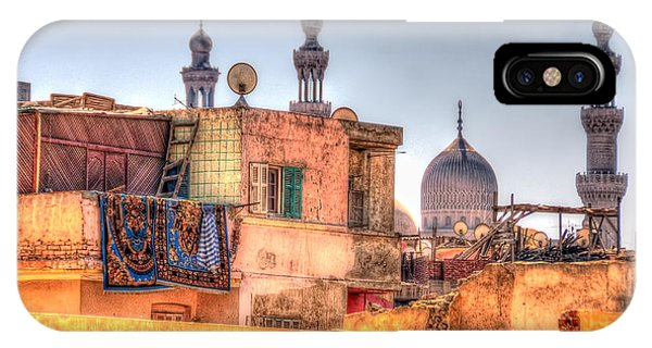 Cairo Skyline IPhone Case