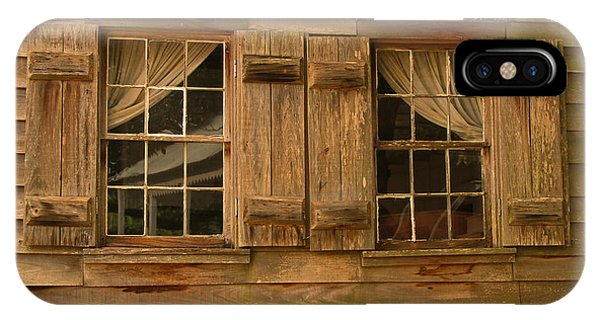 Cajun Cypress Double Window IPhone Case