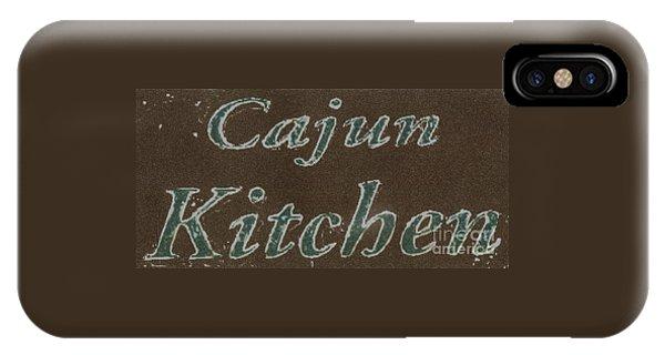 Cajun Kitchen IPhone Case
