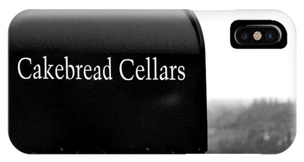 Cakebread Cellars IPhone Case