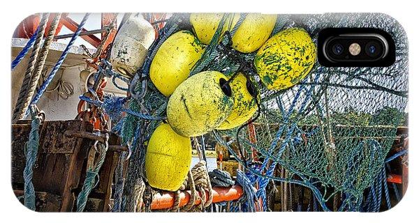 Calabash Shrimp Nets IPhone Case