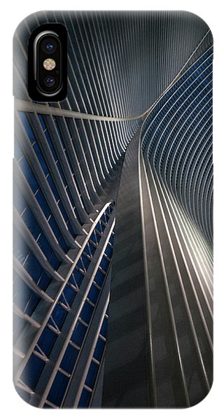 Calatrava Lines At The Blue Hour Phone Case by Jef Van Den