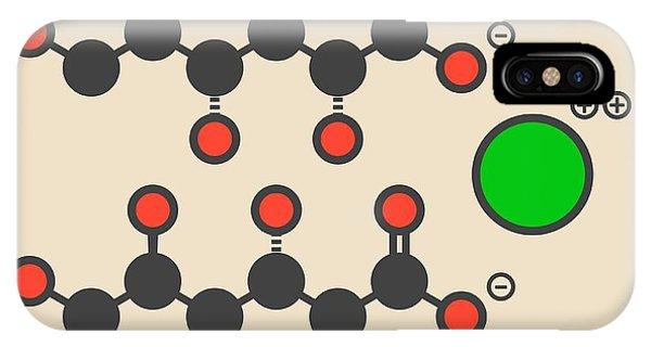 Calcium Gluconate Drug Molecule Phone Case by Molekuul