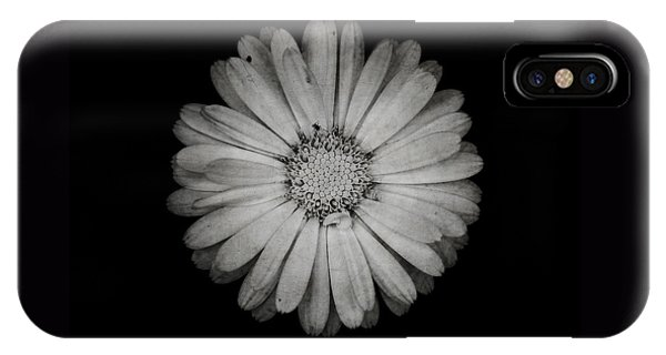 Calendula Flower - Textured Version IPhone Case