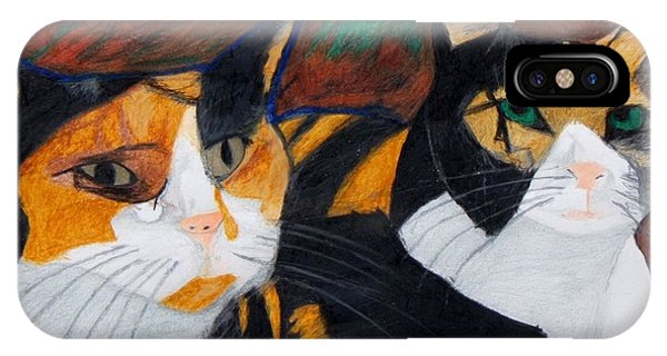 Calico Cats IPhone Case