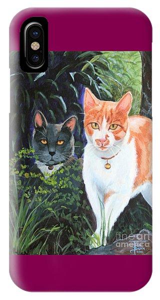 Califorian Cats IPhone Case