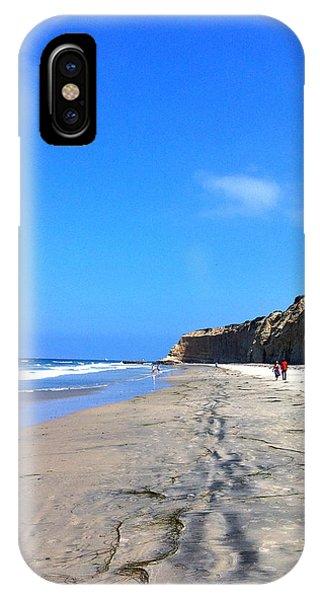 California Beach Hike IPhone Case