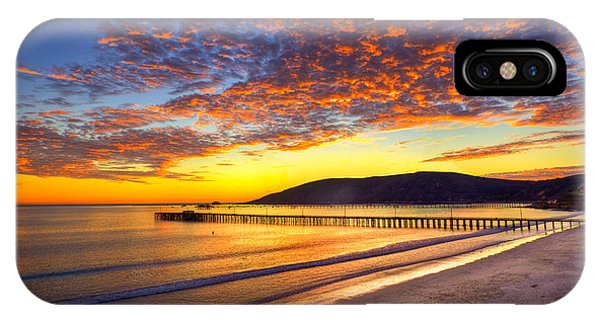 Avila Beach Sunset IPhone Case