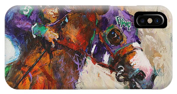 Horse iPhone Case - California Chrome by Ron and Metro