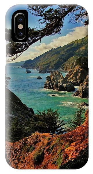 Pacific Ocean iPhone Case - California Coastline by Benjamin Yeager