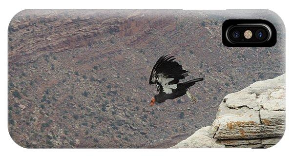 California Condor Taking Flight IPhone Case