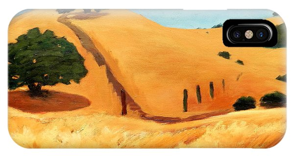 California Dry Grass IPhone Case