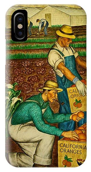 California Farmers IPhone Case