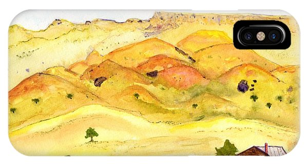 California Foothill Homestead IPhone Case