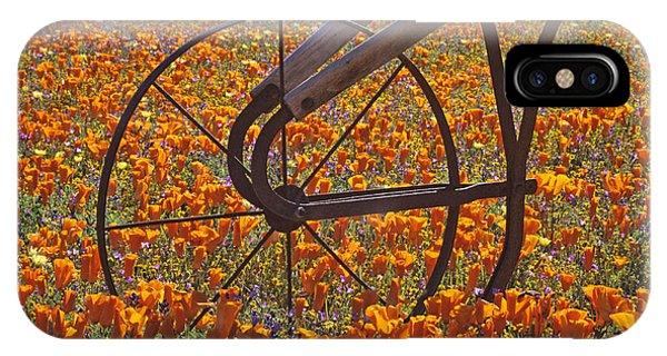 California Poppy Field IPhone Case