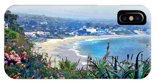 Laguna Beach iPhone Case - California Riviera by Elaine Plesser