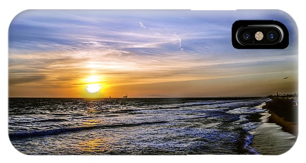 California Sunset IPhone Case
