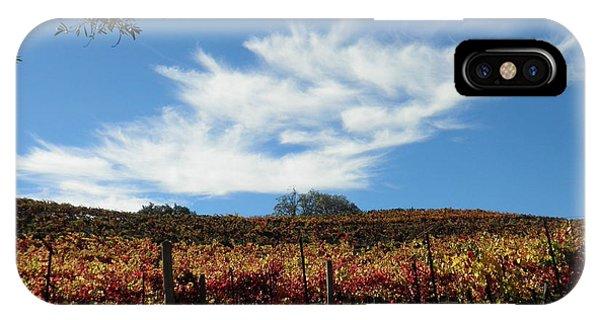 California Vineyard IPhone Case