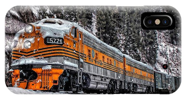 California Zephyr IPhone Case