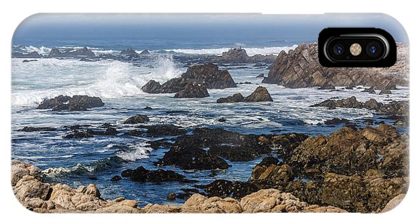 IPhone Case featuring the photograph Californian Coastline by Susan Leonard