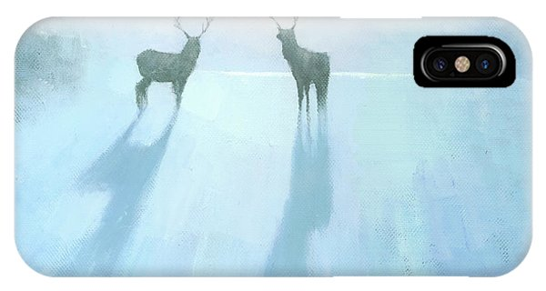 Winter iPhone Case - Call Of The Arctic by Steve Mitchell