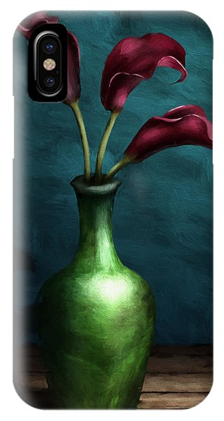 Calla Lilies I IPhone Case