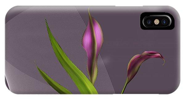 Calla Lillies IPhone Case