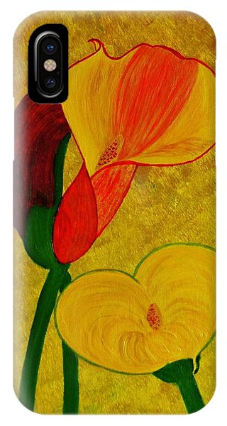 Calla Lilly IPhone Case