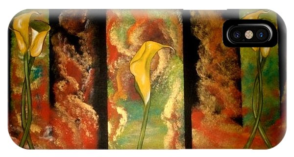 Calla Lilly Sunrise IPhone Case