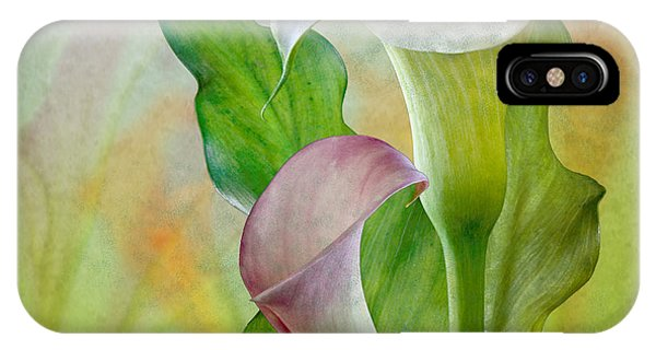 Calla Lily Garden IPhone Case