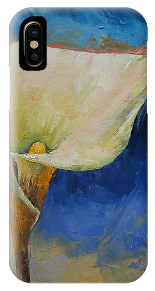 Lilly iPhone Case - Calla Lily by Michael Creese