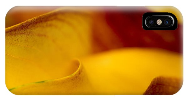 IPhone Case featuring the photograph Calla Lily Waves by Sebastian Musial