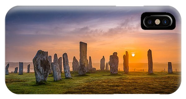 Callanish Dawn IPhone Case
