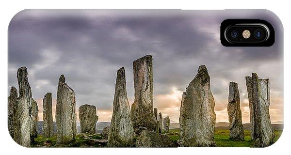Callanish Stones IPhone Case
