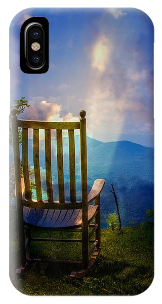 Appalachian Mountains iPhone Case - Just Imagine by John Haldane