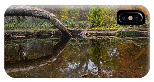 Calm On Big Chico Creek IPhone Case
