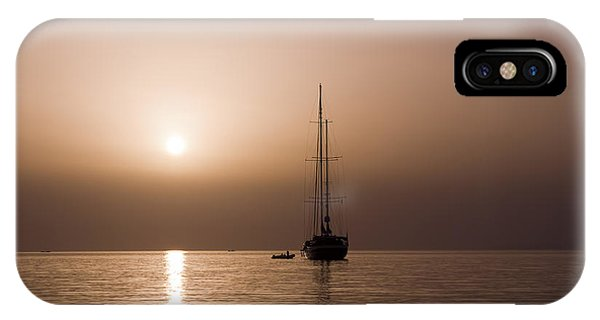 Calm Sea And Quiet Voyage IPhone Case
