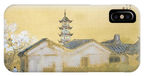 Calm Spring In Jiangnan IPhone Case