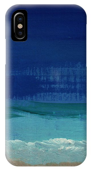 Gallery Wall iPhone Case - Calm Waters- Abstract Landscape Painting by Linda Woods