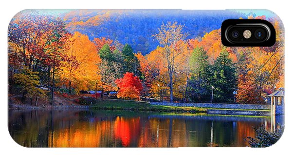 Calm Waters In The Mountains IPhone Case
