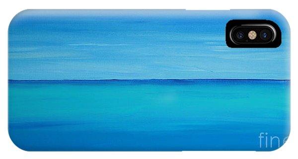 Calming Turquise Sea Part 1 Of 2 IPhone Case