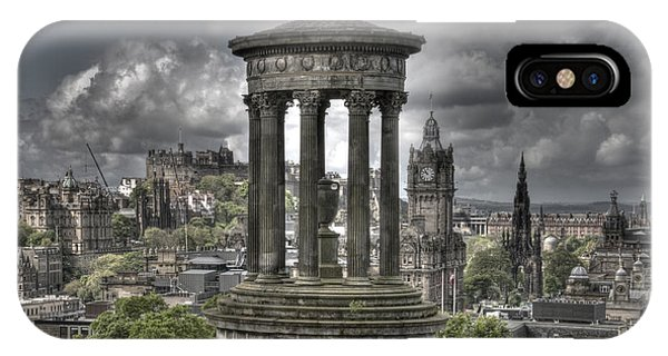 Calton Hill IPhone Case