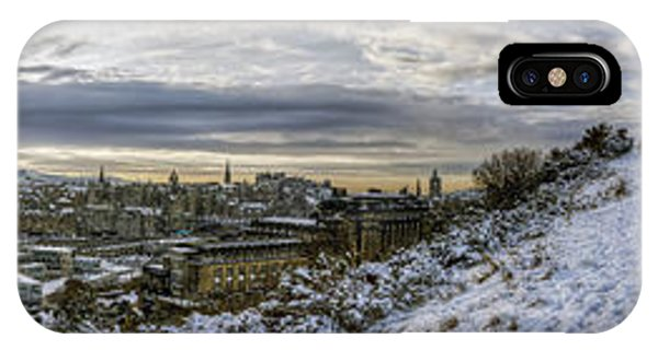 Calton Hill Panorama IPhone Case